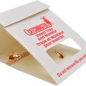 Trampas adhesivas – Fabricadas en Estados Unidos – Sin veneno ni biocidas – Medio contra – Cucarachas | cucarachas | cucarachas | arañas